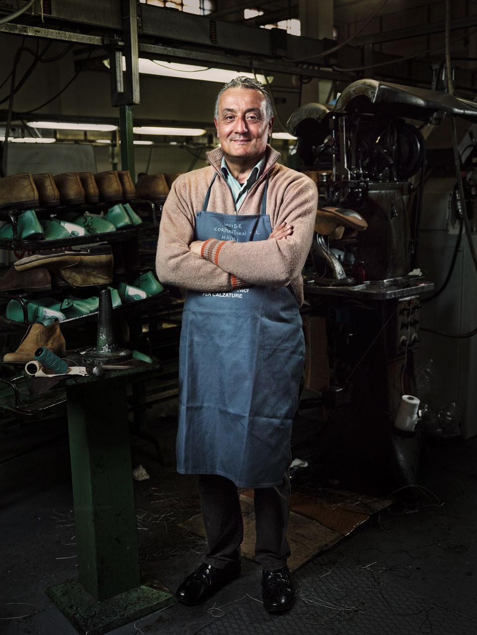 Schuhmacher für Liebeskind in Neapel