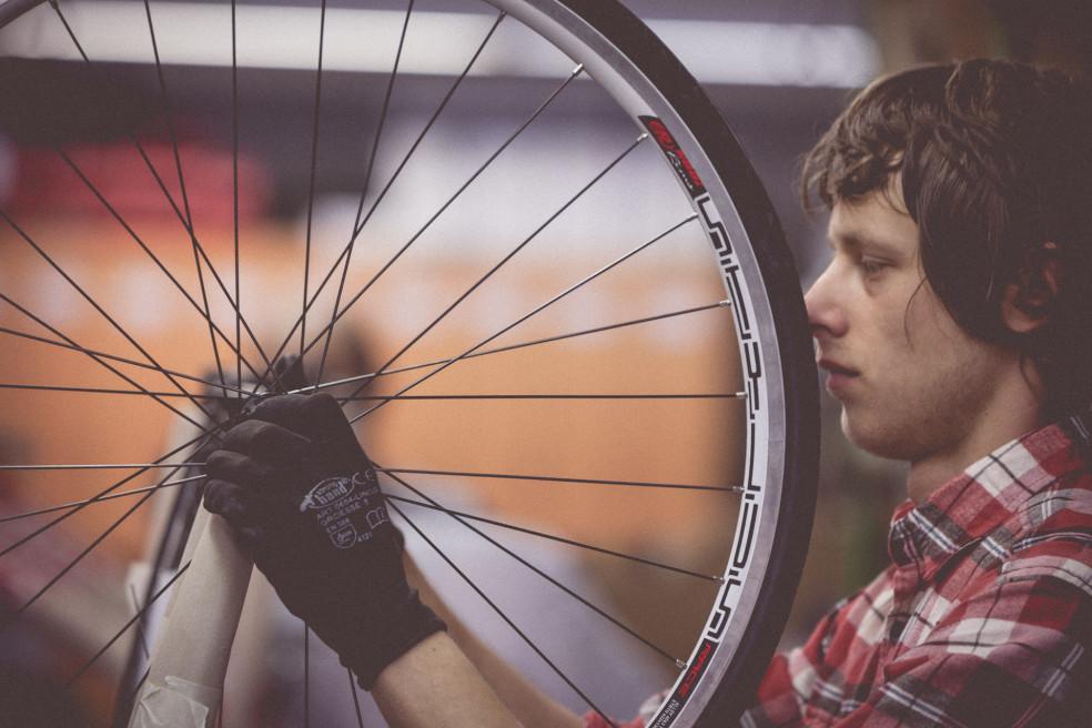 Fahrradproduktion