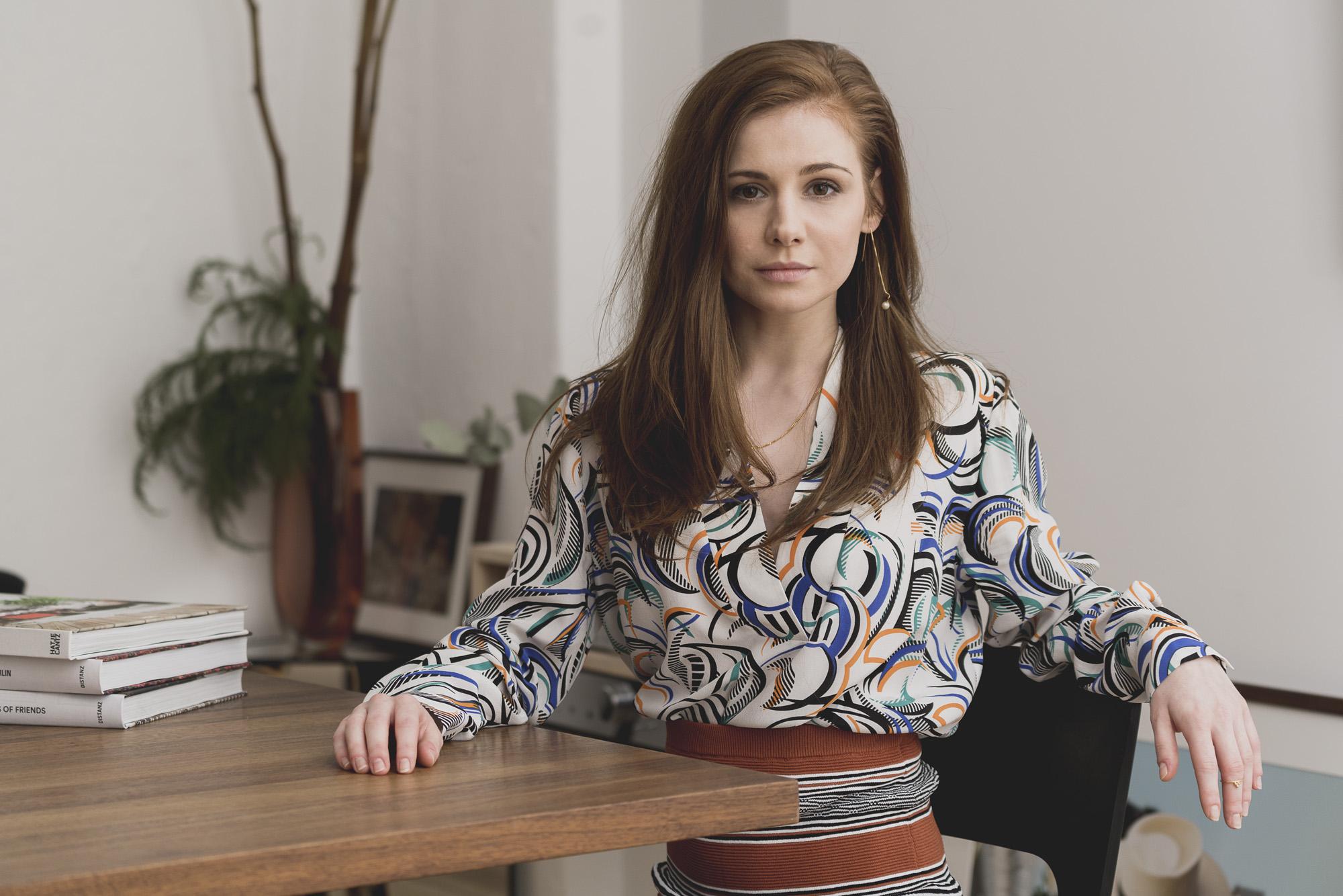 Josefine Preuß, Schauspielerin für BUNTE